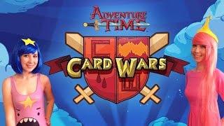 Обзор настольной игры Adventure Time Card Wars