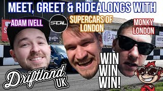 Meet the Drift Youtubers FREE COMP - Supercars of London, Monky London, Adam Ivell