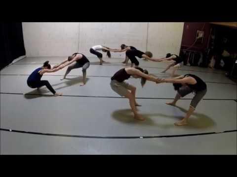 Stage de danse-voltige à L' Atelier Danses, juin 2018