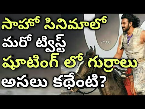 Prabhas Saaho movie taken New twist | Time travel and Horse riding scenes shooting