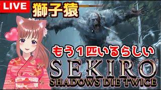 【 SEKIRO 】隻狼 獅子猿まだ1匹いるでござる こはる [女性実況] 生放送 初見