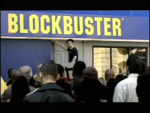 "Blockbuster ""It's Over"" commercial"