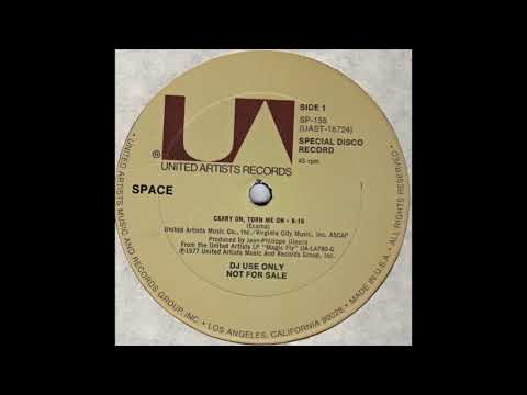 SPACE - CARRY ON, TURN ME ON (SP-155)