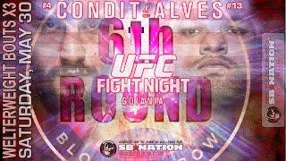 UFC Fight Night Condit vs Alves 6th Round