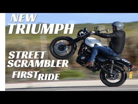 2019 Triumph Street Scrambler First Ride, Better Than The Old One?