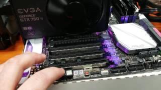 Asus x99 Deluxe II Problems