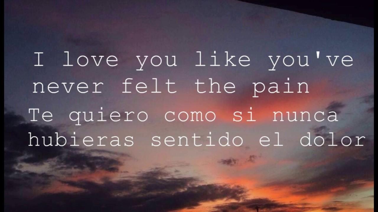 Little do you know - Alex & Sierra (Lyrics ingles - español) - YouTube