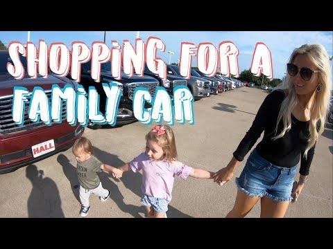 BUYING A NEW CAR?! | SHOPPING FOR A FAMILY CAR