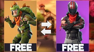 New REX & BURNOUT SKINS in Fortnite! HOW TO GET FOR FREE!
