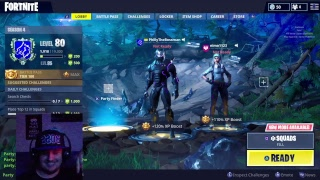 Fornite ~ Playing Playground On Live Stream