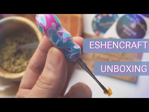 Eshencraft Wooden Dabber and Bowl Holder Unboxing