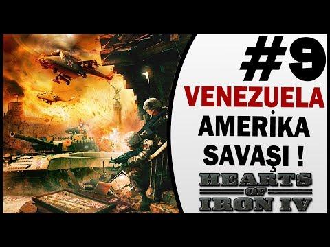 Venezuela Amerika Savaşı - 9.Bölüm - Hearts of Iron 4 Türkçe İzle