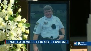 Hundreds gathered to remember Sgt. LaVigne