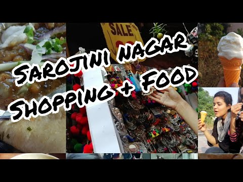 Sarojini Nagar Market Shopping And Food Reviews