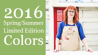 Spring Paint Colors | 2016 Spring and Summer Limited Edition Paint Collection | Country Chic Paint