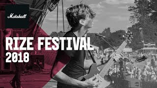 Behind The Scenes | RiZE Festival 2018 | Marshall