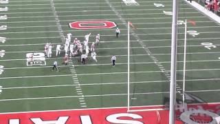 Michigan State Last Second Field Goal Beats Ohio State Buckeyes 11/21/2015