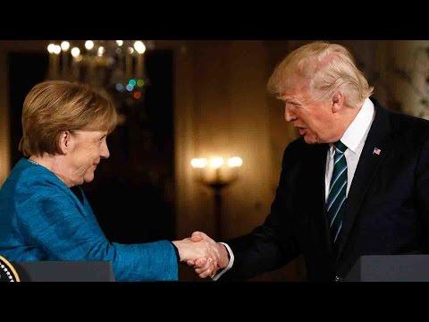 Trump: Merkel and I were both wiretapped by Obama