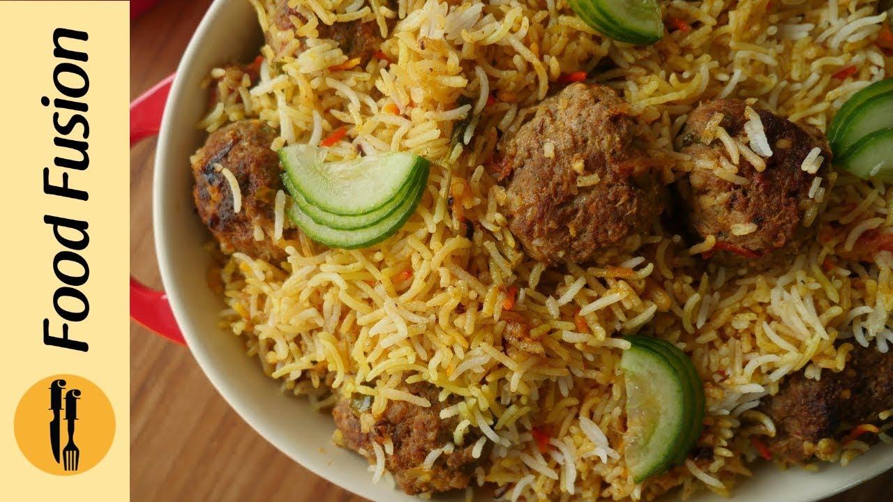 Kofta Biryani Recipe By Food Fusion