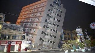 Video CCTV Detik-Detik Gempa 6,4 SR Guncang Taiwan, Banyak Bangunan Yang Roboh