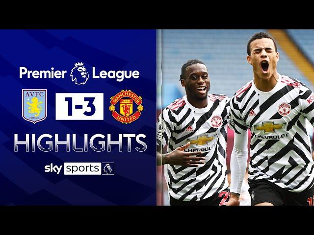 Fernandes, Greenwood & Cavani score in comeback win! ✨| Aston Villa 1-3 Man United | EPL Highlights