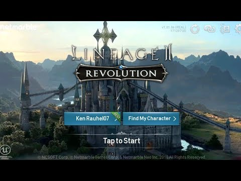 GETTING STARTED in Lineage 2 Revolution - Episode 1