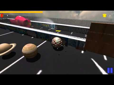 Solar System Model. August Video of the Month Competition prize - BomberBall