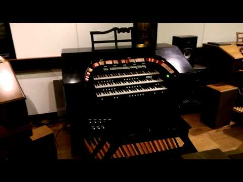 allen digital theatre organ in self play mode youtube