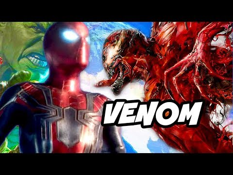 Spider-Man Venom - Tom Holland Avengers Infinity War Crossover Explained