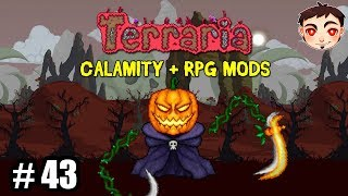 EVENTO BUGEADO Y LUNA CALABAZA - Terraria Calamity  RPG Mods EP 43