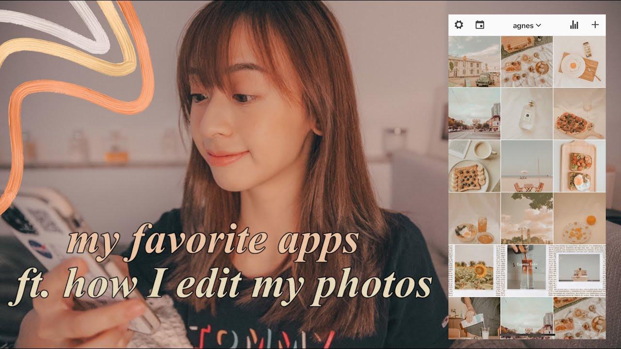 平常如何調色edit照片🍰 喜歡的手機app📱編輯照片影片 mood tracker 🌱 閱讀 🎨