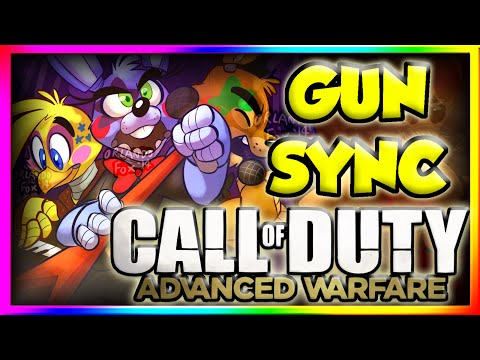 The Show Must Go On - Five Nights at Freddy's Gun Sync - CALL OF DUTY ADVANCED WARFARE
