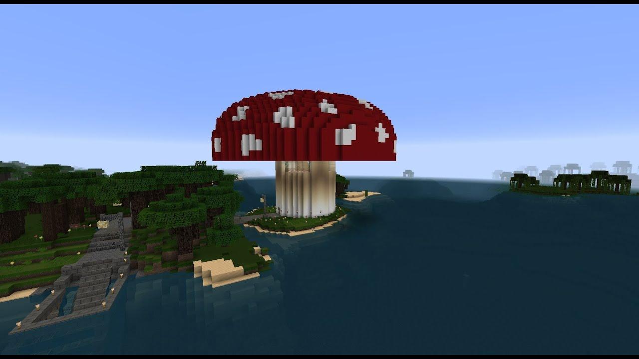 Minecraft: How to make a Mushroom Farm in Minecraft ...