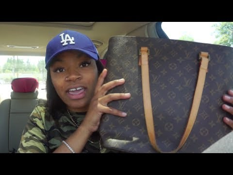 HONEY I FOUND LOUIS VUITTON AT THE GOODWILL | VLOG 5