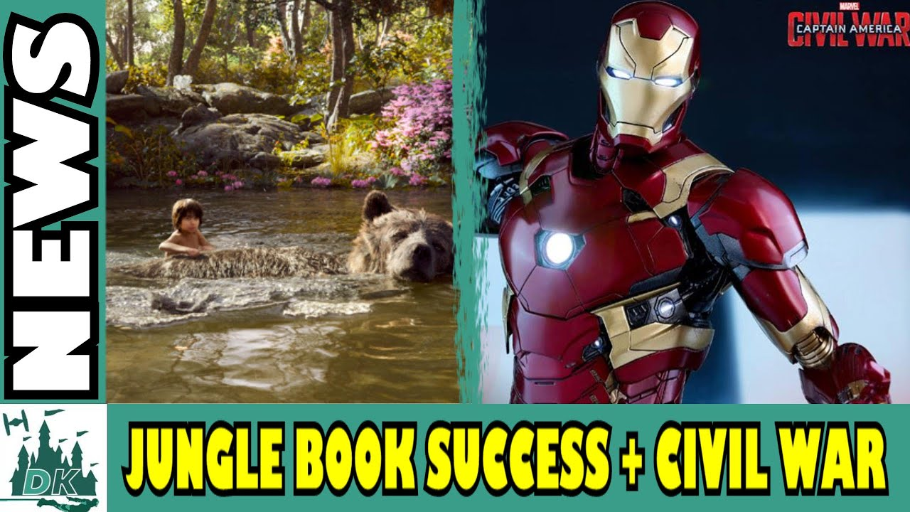 Marvel Civil War Toys The Jungle Book Box fice Smash