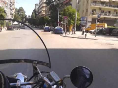 Honda Shadow in Thessaloniki