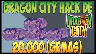 Dragon City hack Gemas Comida Oro