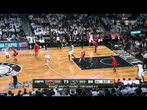 Toronto Raptors vs Brooklyn Nets Game 6 | May 2, 2014 | NBA Playoffs 2014