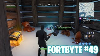 Fortnite Battle Royale ? Défis Fortbyte Comment obtenir le #49 Fortbyte