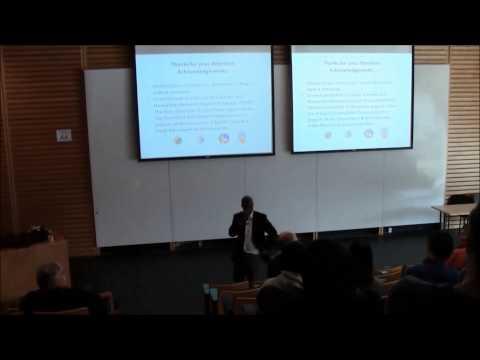 Dr. U. Rashid Sumaila, Fisheries Centre Seminar, UBC, Feb 27th 2015