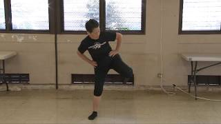 Lucy's Single Whip, Cloud Hands, High Pat, Double Punch everydaytaichi lucy Honolulu Hawaii