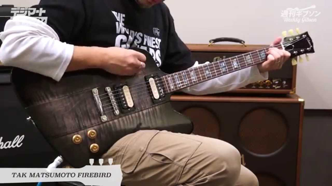 Vol 43 Gibson Custom Tak Matsumoto Firebird B Z