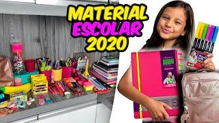 MEU MATERIAL ESCOLAR 2020 COMPLETO - DUDINHA SHOW