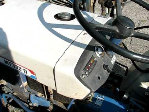 Mitsubishi Tractor Hydraulic Fluid Level D2350, 2050, 1850, 2650