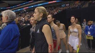 2016 U.S. Nationals - Ladies FS warmup NBC (final group)
