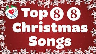 Top 88 Christmas Songs and Carols with Lyrics 🎄 Merry Christmas Music Playlist 🎅