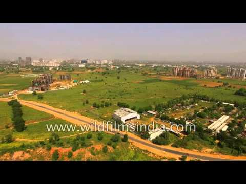 Farmland gives way to residential colonies: Gurgaon rises from green fields