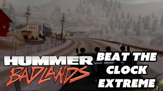 Xin Plays: Hummer Badlands (PS2) Part 5: Beat The Clock: Extreme