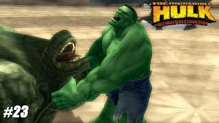 The Incredible Hulk: Ultimate Destruction - PS2 Gameplay Playthrough 1080p (PCSX2) PART 23