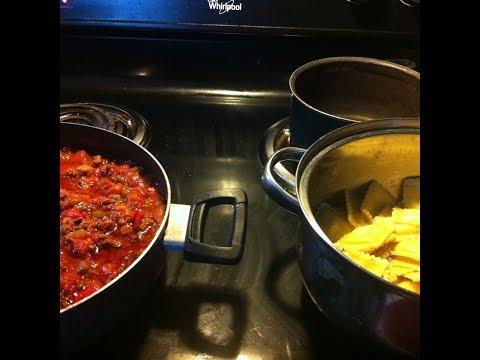 Ravioli With Homemade Meat And Veggie Marinara Sauce   #pasta   #sauce   #ravioli